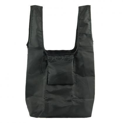 メンズ専用エコバッグ(L)ブラック