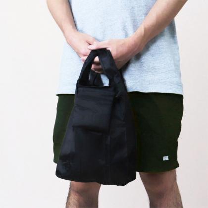 メンズ専用エコバッグ(S)ブラック