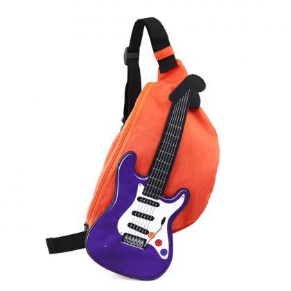 エレキギターウエストバッグ オレンジ